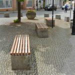 Holz-Bankauflage Luckau